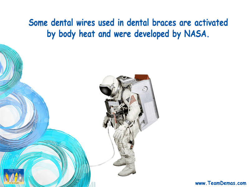 NASA Developed Wires for Braces