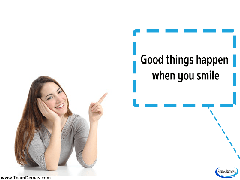 Good Things Happen When You Smile