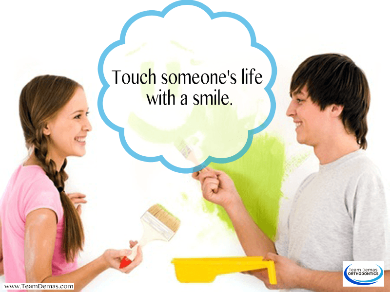 Touch Someone's Life with a Smile