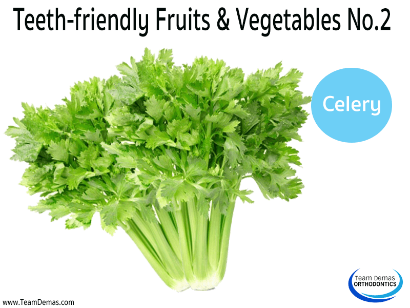 Teeth-Friendly Fruits & Vegetables No. 2: Celery