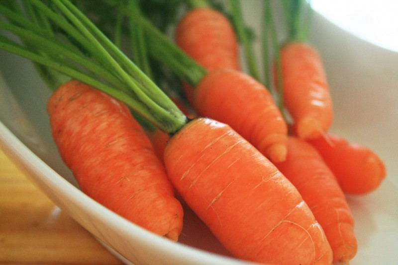 Teeth-friendly Fruits & Vegetables No. 5: Carrots