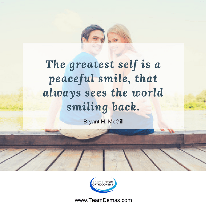 The Greatest Self Is a Peaceful Smile, That Always Sees the World Smiling Back. – Bryant H. McGill